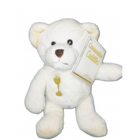 Communion Teddy Bear 7 inches high: Available at Clothes Line shop London SW20 9NQ