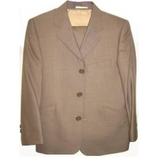 CL_S05 - Rio Light Brown Boys Suit: Available in ages 6-10 yrs. Welcome to visit Clothes Line SW London SW20 9NQ. We may not have this suit in all sizes, but several similar suits are available