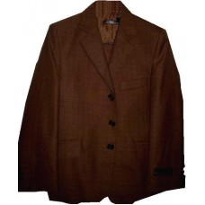 CL_S08 - Leama Brown Boys Suit: Available in ages 6-10 yrs. Welcome to visit Clothes Line SW London SW20 9NQ. We may not have this suit in all sizes, but several similar suits are available