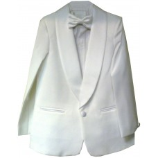 CL_S15 - White Boys Suit: Available in ages 6-10 yrs. Welcome to visit Clothes Line SW London SW20 9NQ. We may not have this suit in all sizes, but several similar suits are available