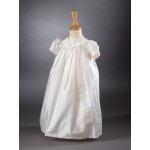 CH356 - A Long Pure Silk Unisex Gown: You are welcome to visit Clothes Line shop SW London SW20 9NQ