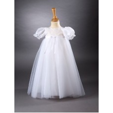 CH361 - A Long Gown With Sparkle Organza Overlay: You are welcome to visit Clothes Line shop SW London SW20 9NQ