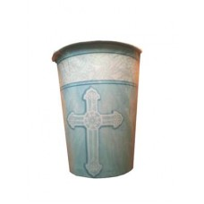 G326 - Christening Hot/Cold Cups in Blue: You are welcome to visit Clothes Line shop SW London SW20 9NQ