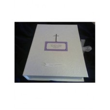 G344 - Personalised Keepsake Box for Boy or Girl: Ideal Momento to keep memories of the day:  Ideal for Baptism/Christening. You are welcome to visit Clothes Line shop SW London SW20 9NQ for Christening Cards, Gifts, Shawls and Party items