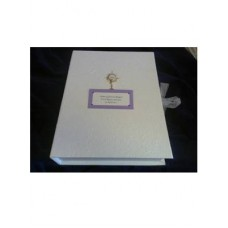 G356 - Personalised Keepsake Box for Boy or Girl: Ideal for Baptism/Christening. You are welcome to visit Clothes Line shop SW London SW20 9NQ for Christening Cards, Gifts, Shawls and Party items