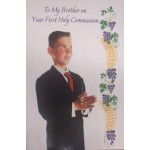 Son Communion Card