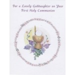 Goddaughter First Communion Card