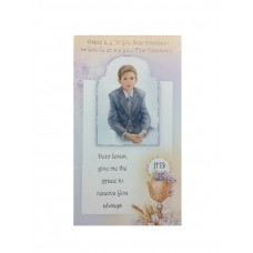 Communion Card Grand Son