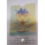 Sister First Holy Communion Card