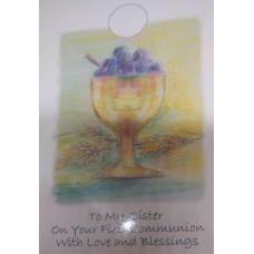 Communion Card Sister