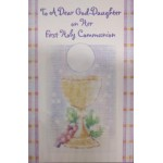 Goddaughter 1st Holy Communion Card