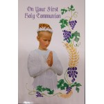 Girl: 1st Communion Card