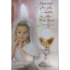 Communion Card Daughter
