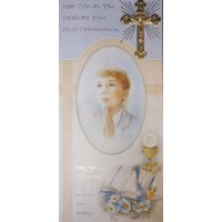 Boxed Communion Card for Son