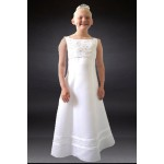 Sleeveless full length communion dress About 8 years