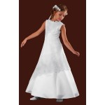 Full Length and Overlay Holy Communion Dress