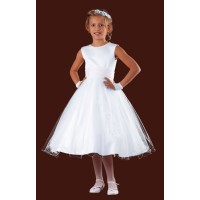 Short Lenght Holy Communion Dress