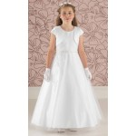 Tulle Communion Dress With Satin Jacket