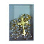 Pearl Rosary with Gold links: Wonderful Communion Gift: