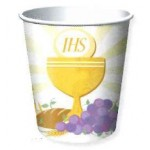 8 - 9oz/266ml Paper Cups for First Holy Communion