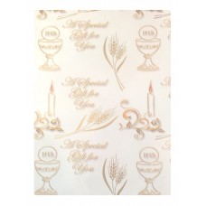 First Holy Communion Wrapping Paper  Approx. 99 x 69 cms