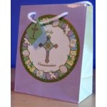 First Holy Communion Gift Bag Approx. 25 x 19 cms with Gift Tag