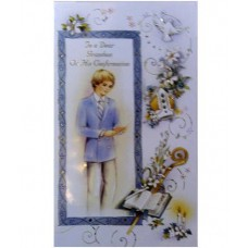 CF8 - Confirmation Card Grandson: You are welcome to visit Clothes Line shop in SW London SW20 9NQ