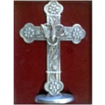 CON854 - Small statue of a cross Confirmation: You are welcome to visit Clothes Line shop in West Wimbledon London SW20 9NQ