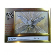 CON855 - Confirmation Photo Frame: You are welcome to visit Clothes Line shop in West Wimbledon London SW20 9NQ