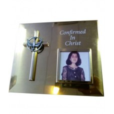 CON856 - Confirmation Photo Frame: You are welcome to visit Clothes Line shop in West Wimbledon London SW20 9NQ