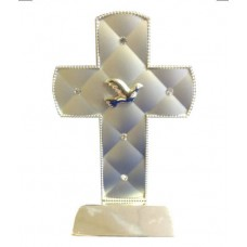 CON872 - Confirmation Cross 6 Inches High: You are welcome to visit Clothes Line shop in West Wimbledon London SW20 9NQ where we have a variety of cards, gifts banners as well as party items