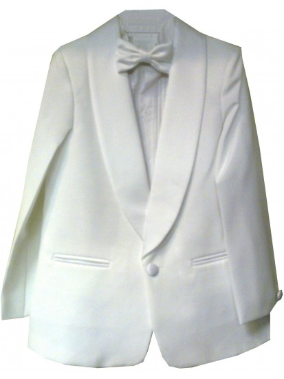 CL_S15 - White Boys Suit: Available in ages 6-10 yrs. Welcome to visit Clot...