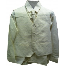 CL_S16 - Beige Boys Suit: Available in ages 6-10 yrs. Welcome to visit Clothes Line SW London SW20 9NQ. We may not have this suit in all sizes, but several similar suits are available
