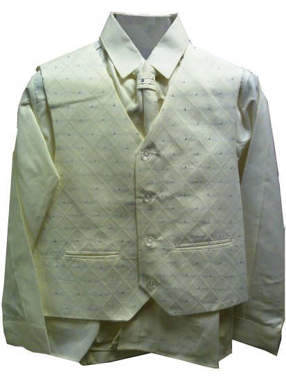 CL_S16 - Beige Boys Suit: Available in ages 6-10 yrs. Welcome to visit Clot...