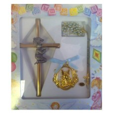 CH529 - Christening Gift Set: Ideal for Baptism/Christening. You are welcome to visit Clothes Line shop SW London SW20 9NQ for Christening Cards, Gifts, Shawls and Party items