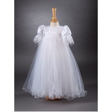 CH369 - A Long Gown With Satin Bodice: You are welcome to visit Clothes Line shop SW London SW20 9NQ