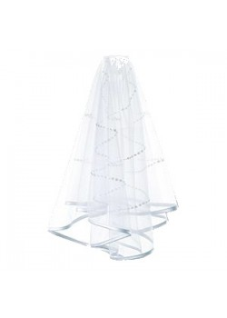 Lovely Two Layed First Holy Communion Veil with Satin edging
