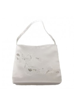 Floral Holy Communion Handbag, ideal with your choice of First Communion Dress