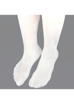 Childs 40 denier Tights in White that is comfortable for her on her First Holy Communion Day