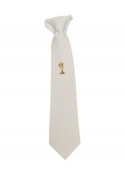 White Tie with Chalice for First Holy Communion: