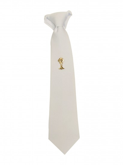 White Tie with Chalice for First Holy Communion:...