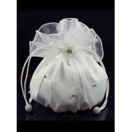 Plain Organza Dolly Bag Ideal For First Communion: