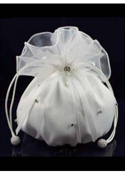 Plain Organza Dolly Bag Ideal For First Communion