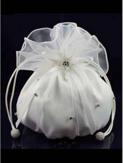 Plain Organza Dolly Bag Ideal For First Communion:...