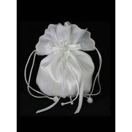 Plain Taffeta Dolly Bag Ideal For First Holy Communion