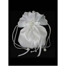 Plain Taffeta Dolly Bag Ideal For First Communion