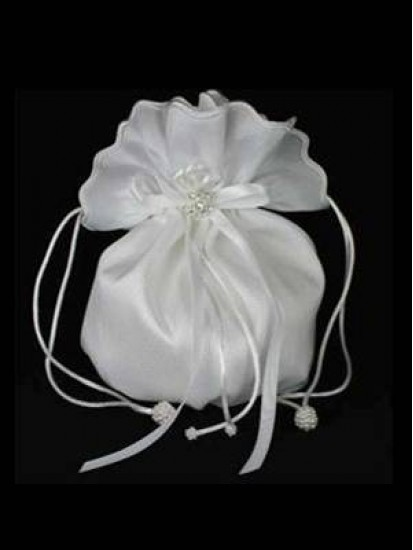 Plain Taffeta Dolly Bag Ideal For First Holy Communion...