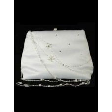 Long Beaded Chain Handbag Ideal For First Communion