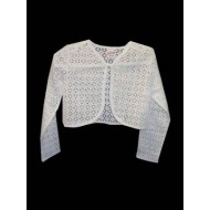 Cotton Lace Bolero Ideal For Holy Communion