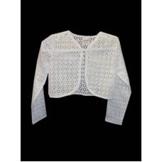 Cotton Lace Bolero Ideal For Communion
